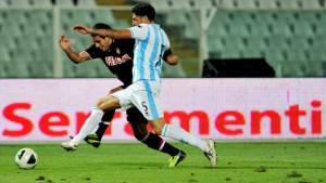 Raffaele Schiavi contro Falcao del Monaco (getty images)