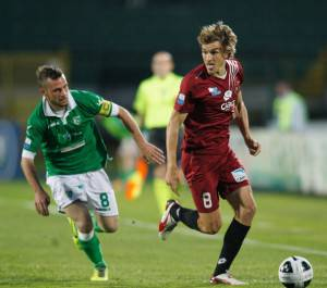 Il capitano dell'Avellino Angelo D'Angelo (Photo by Maurizio Lagana/Getty Images)