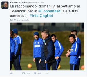 Tweet Mancini