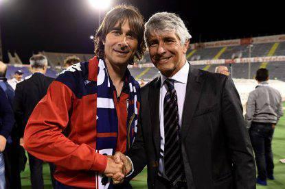 Daniele Conti e Andrea Abodi (Photo by Tullio M. Puglia/Getty Images)