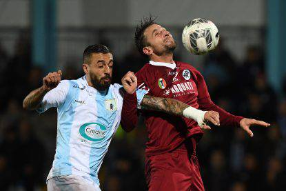 Virtus Entella-Bari 2-0 Calcio serie B