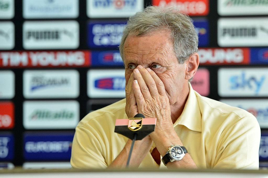 Zamparini parla della campagna acquisti del Palermo: