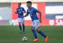 Pescara infortunio Capone piede tempi di recupero 2 mesi