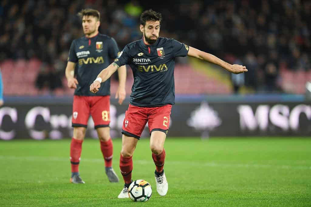 Calciomercato Genoa Spolli Pescara Serie B gennaio scadenza contratto 2019