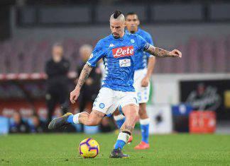 Marek Hamsik Napoli Brescia