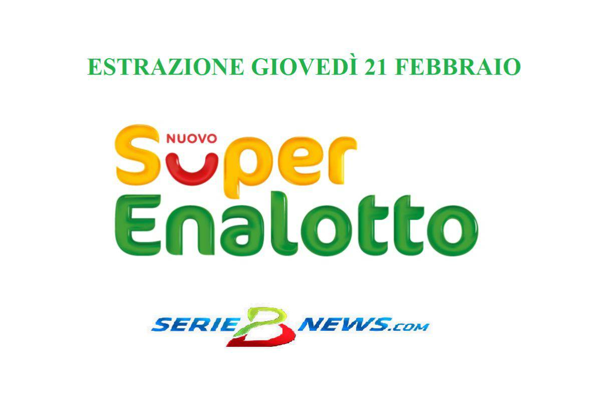 Lotto SuperEnalotto 21 febbraio