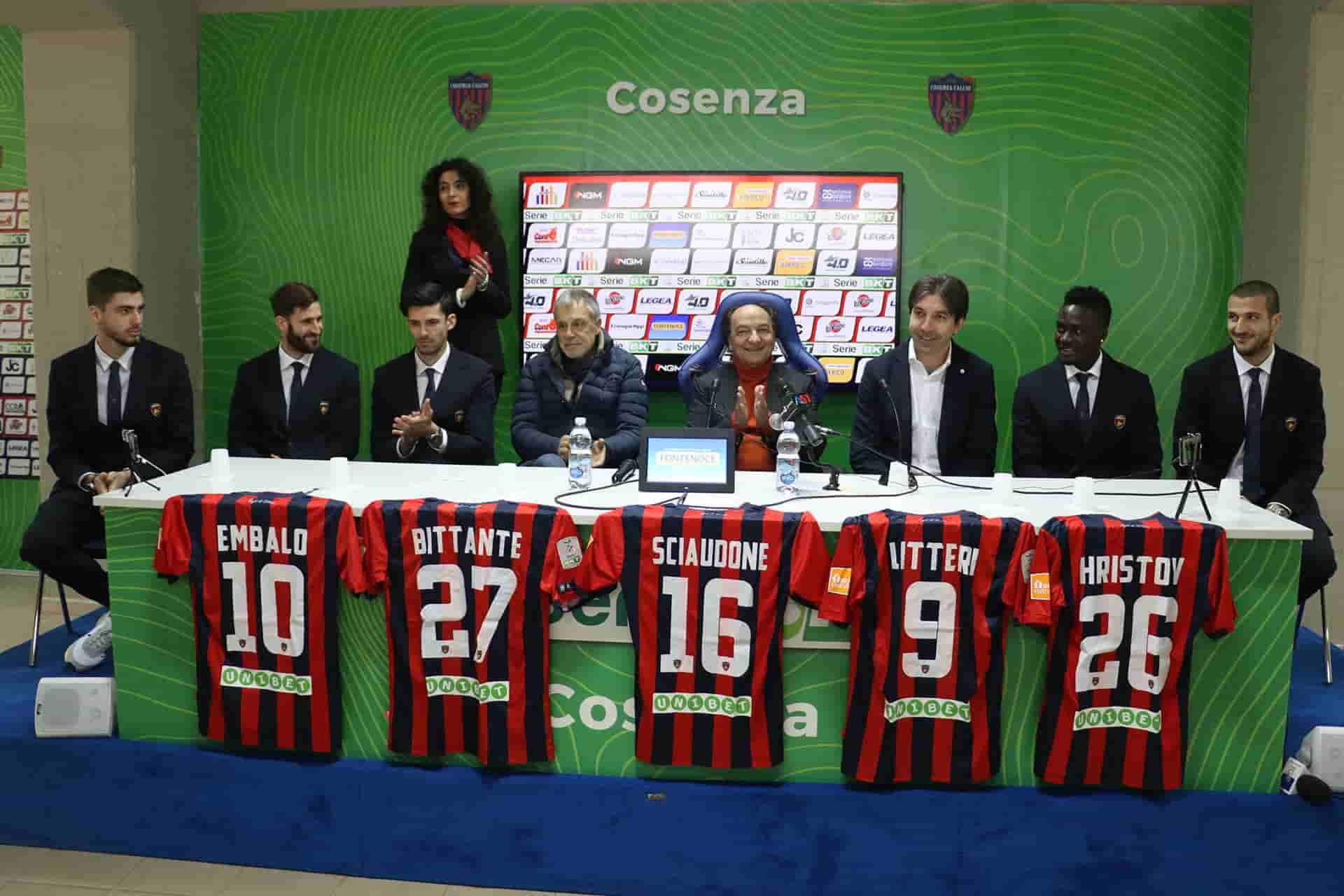 Calciomercato Cosenza Trinchera