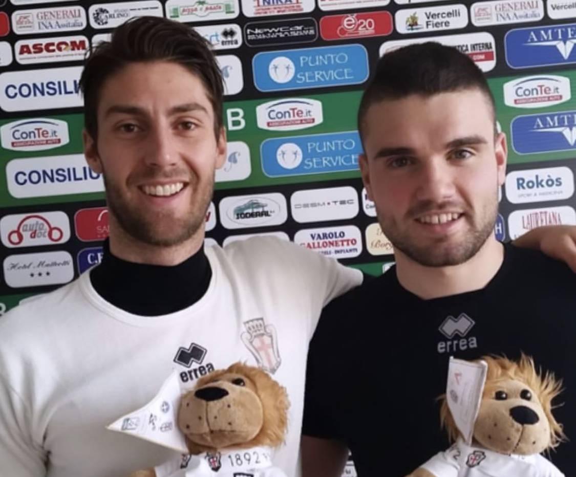Manuel Scavone e Giacomo Beretta