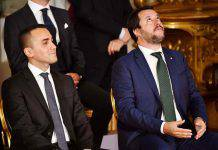 Di Maio Salvini politici italiani