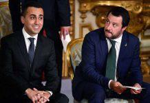 Di Maio Salvini politici reddito cittadinanza
