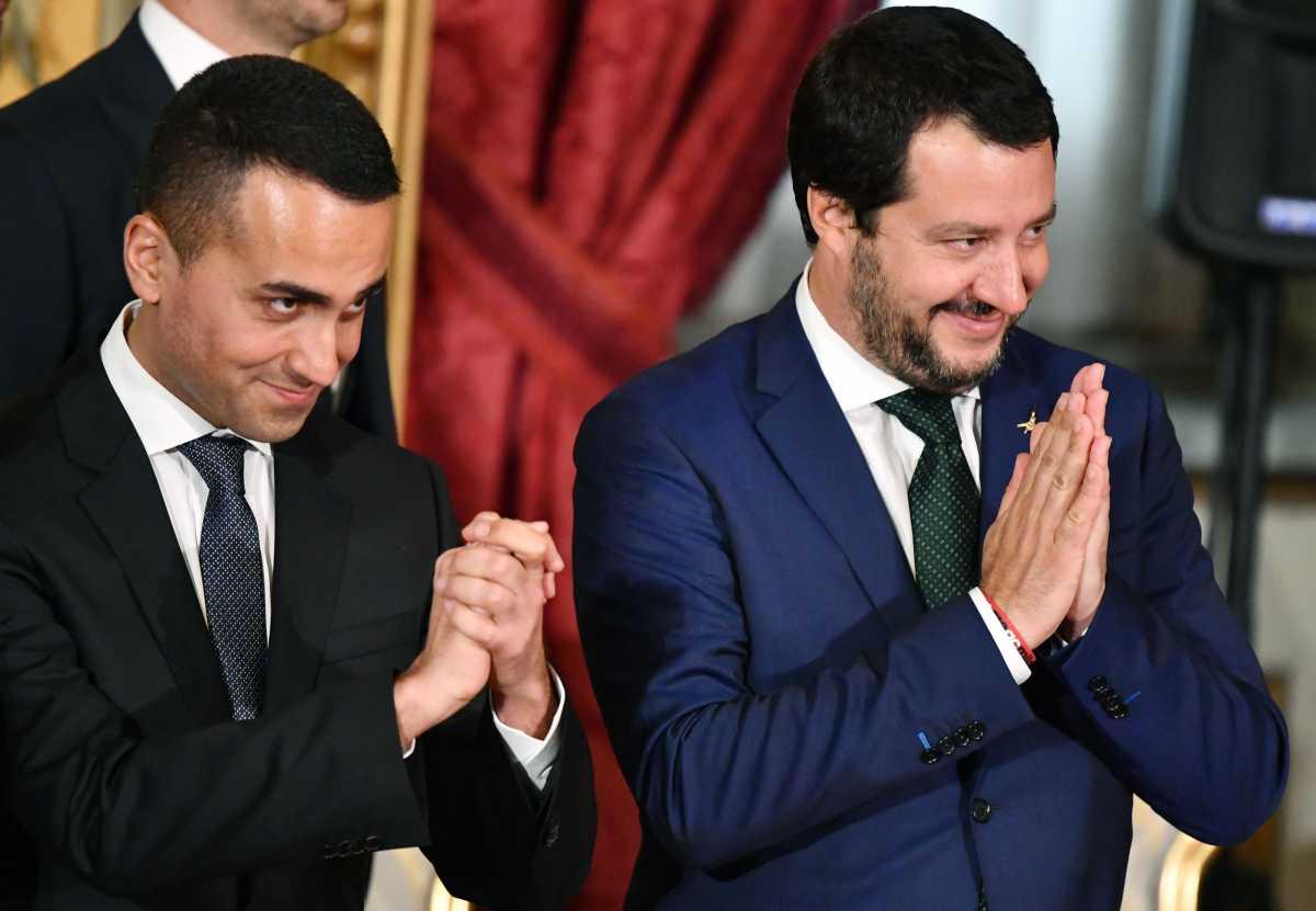 Salvini Di Maio reddito di cittadinanza quota 100