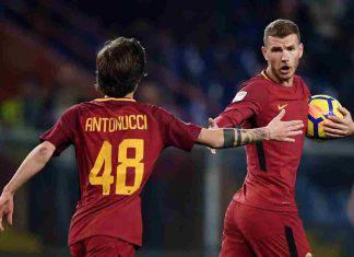 Antonucci Dzeko calciomercato Roma