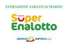 SuperEnalotto 16 marzo