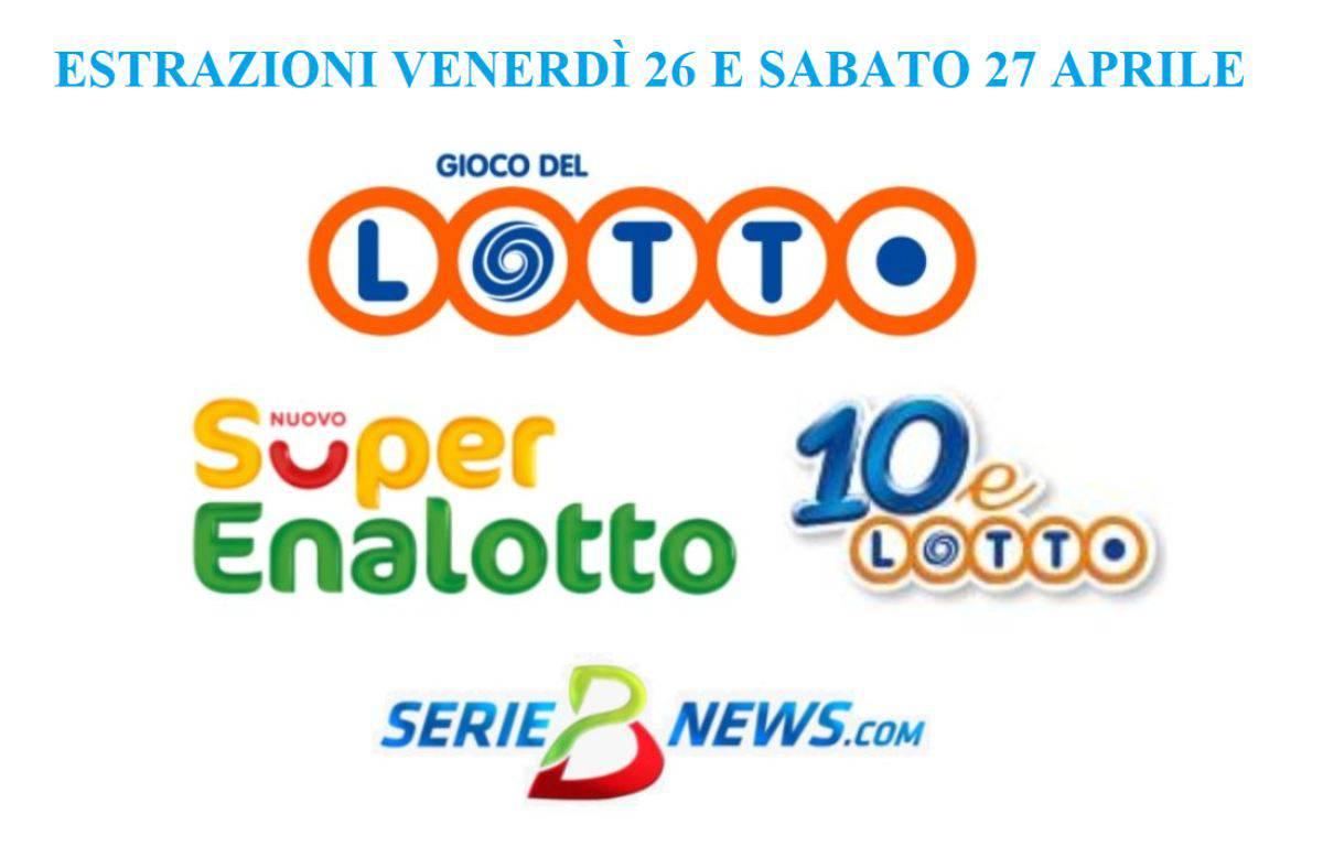 Lotto 10eLotto SuperEnalotto