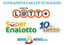Lotto SuperEnalotto 25 maggio