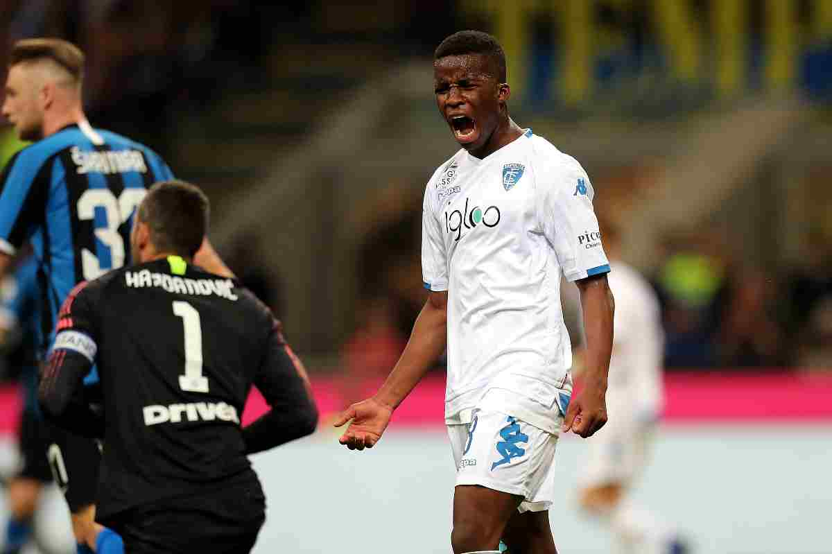 Hamed Traoré in Inter-Empoli