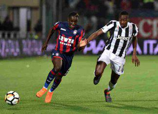 Moussa Diaby e Matuidi in Crotone Juventus