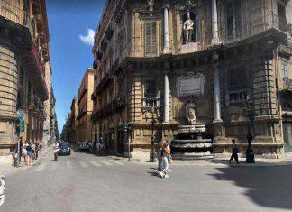 Palermo piazza Quattro Canti