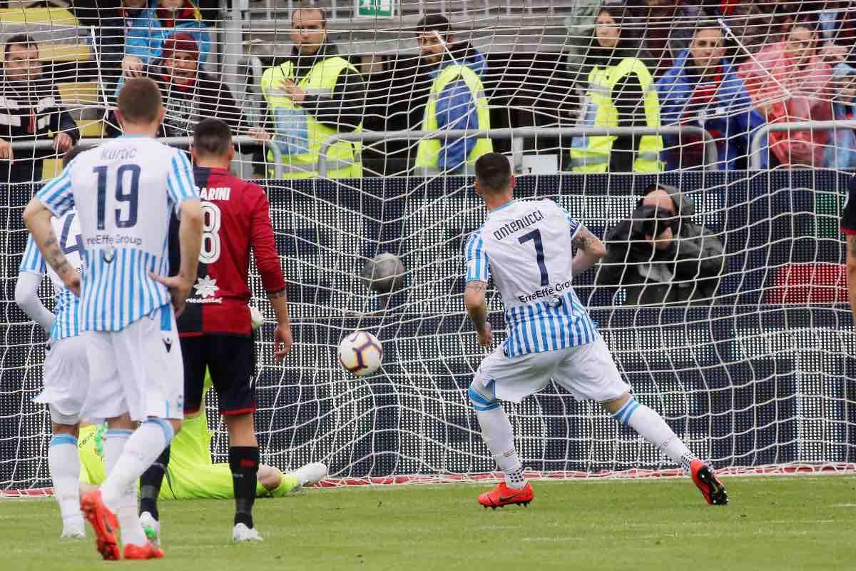 calciomercato Bari Antenucci Benevento Spal