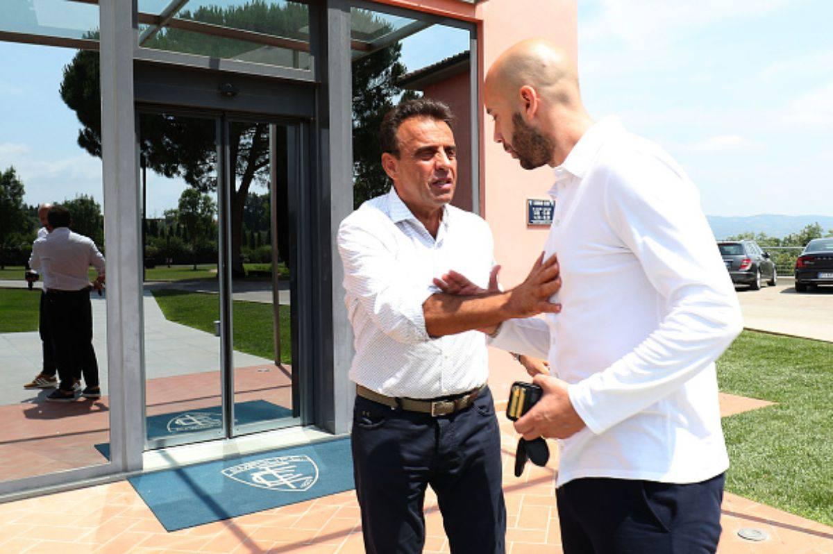 Fabrizio Corsi e Cristian Bucchi Empoli (Getty Images)