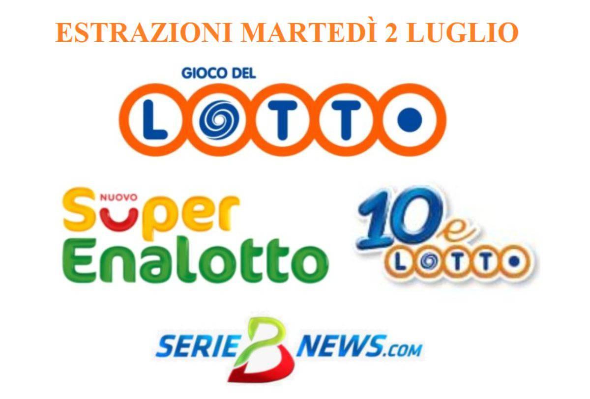 jackpot SuperEnalotto 2 luglio 2019