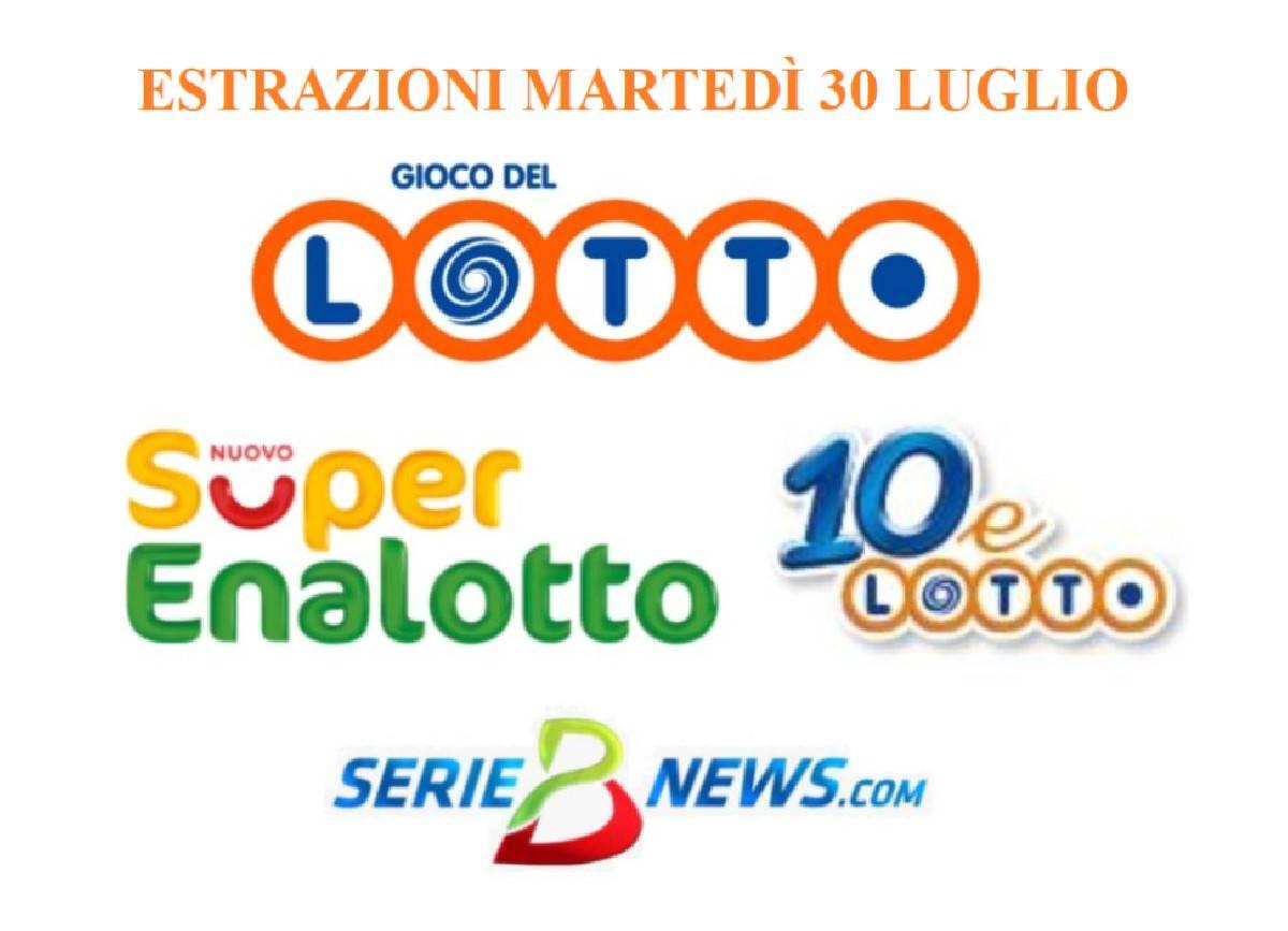 jackpot SuperEnalotto Lotto