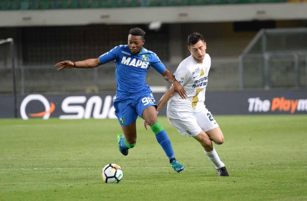 calciomercato Verona Adjapong Sassuolo