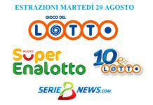 Jackpot Lotto, SuperEnalotto, 10eLotto