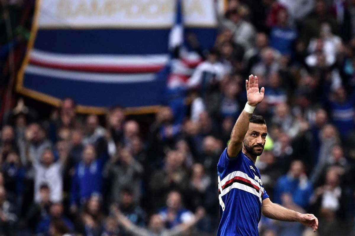 Quagliarella Sampdoria Juve Stabia