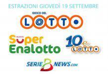 Estrazione Lotto, SuperEnalotto, 10eLotto