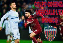 Riviere colpo Cosenza ufficiale l'ex Monaco