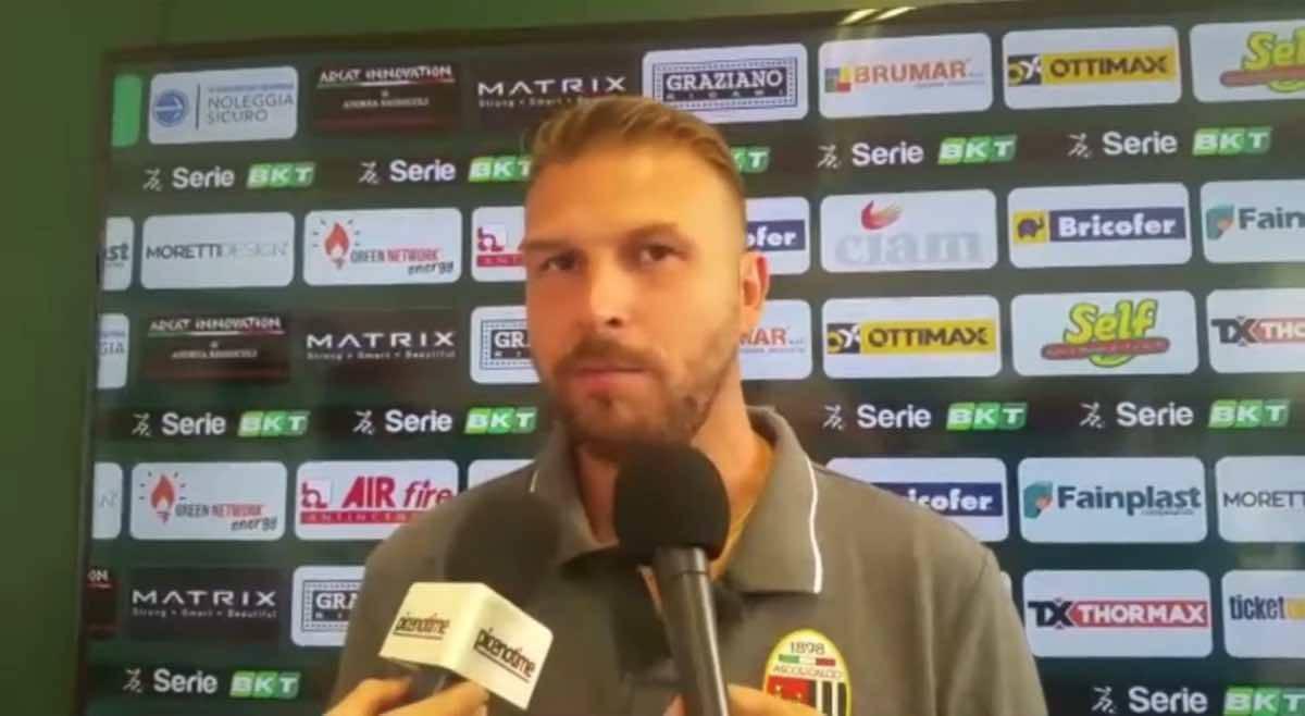 Paolo Zanetti Cremonese Ascoli conferenza stampa