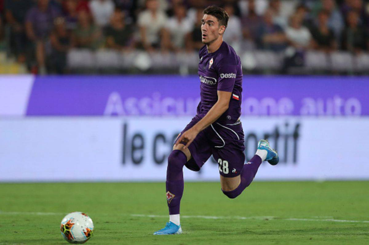 Dusan Vlahovic Fiorentina (Getty Images)