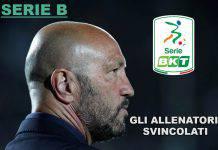 Serie B, gli allenatori svincolati