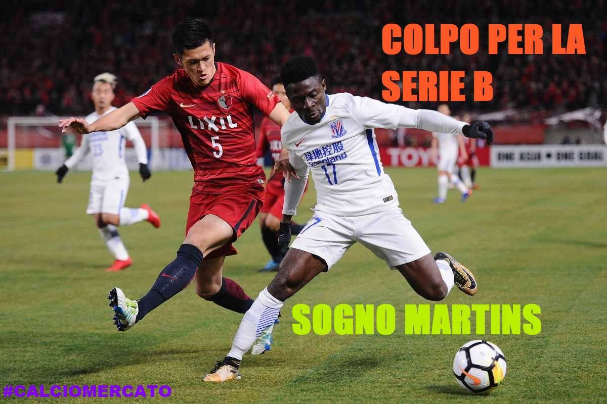 Calciomercato Serie B Martins
