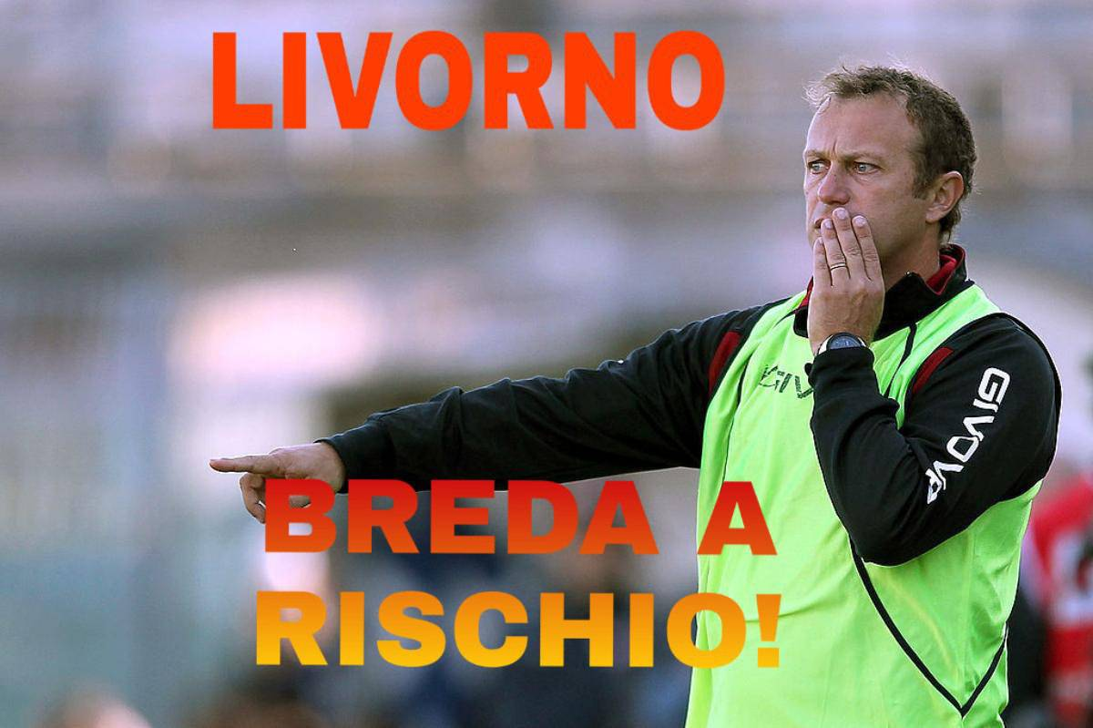 Livorno, Breda a rischio!