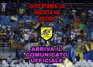Juve Stabia: la società ha deciso, arriva il comunicato ufficiale