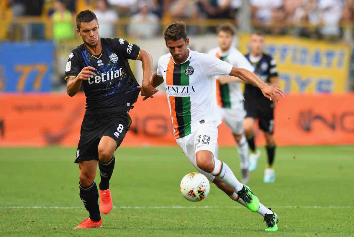 Udinese Venezia Ceccaroni amichevole