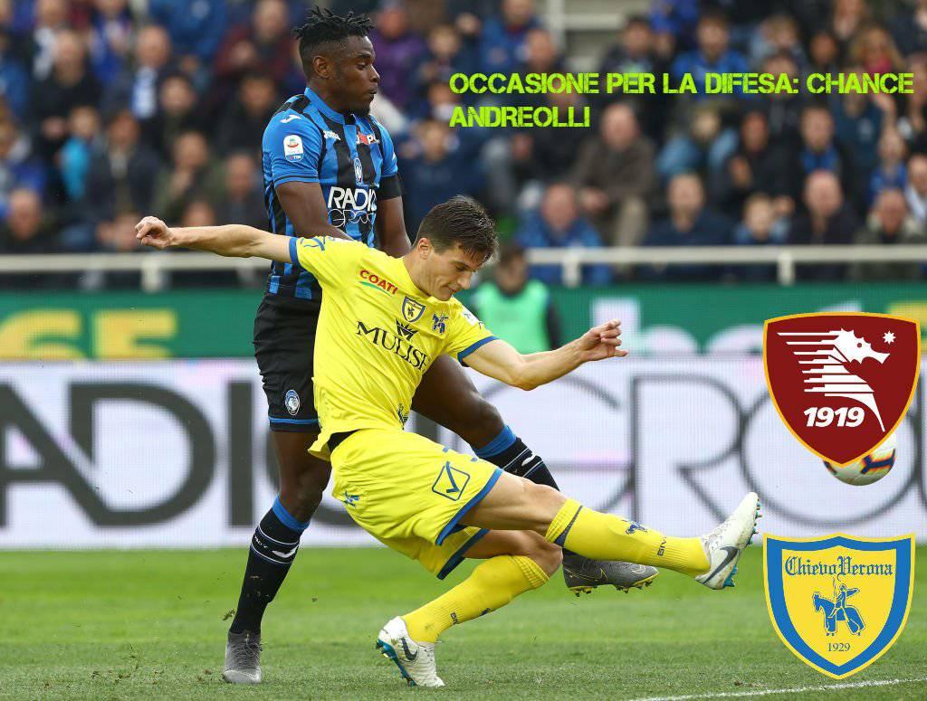 Andreolli Salernitana Chievo Spezia