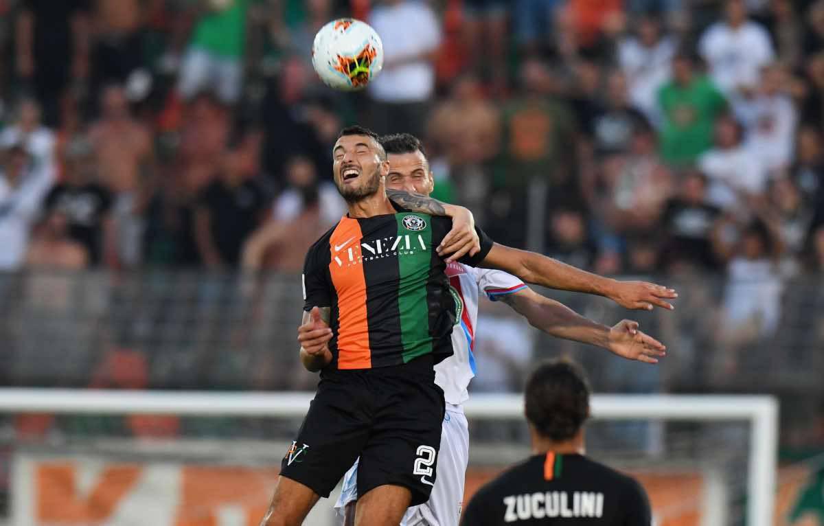 Venezia Salernitana Bocalon Serie B