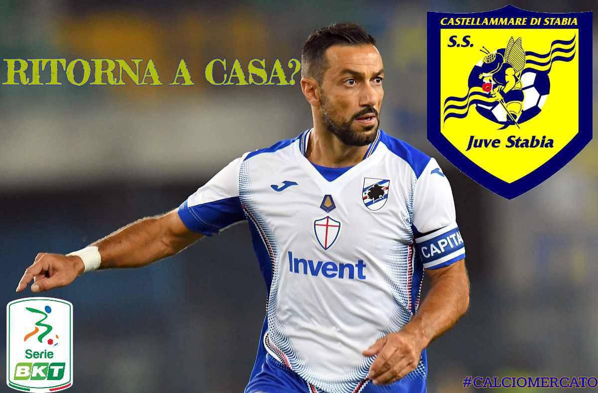 Calciomercato Juve Stabia Quagliarella