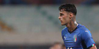 Gianluca Scamacca Italia Under 21