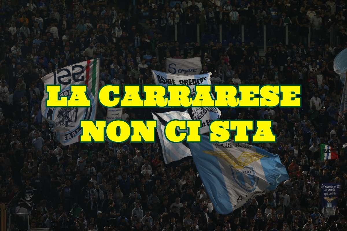 Tifosi Lazio Carrarese