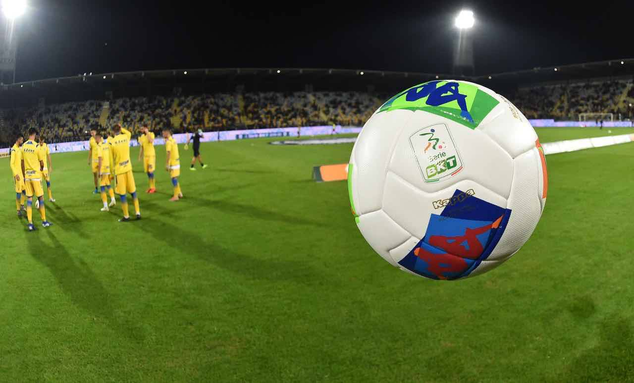 Serie B 21a gioranta Dazn streaming