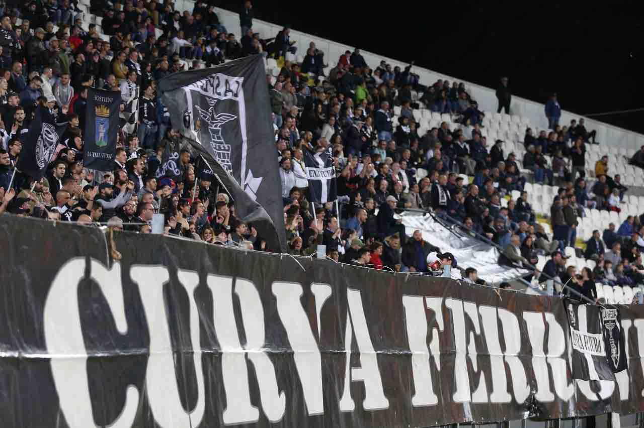 Spezia Cremonese rinviata Serie B