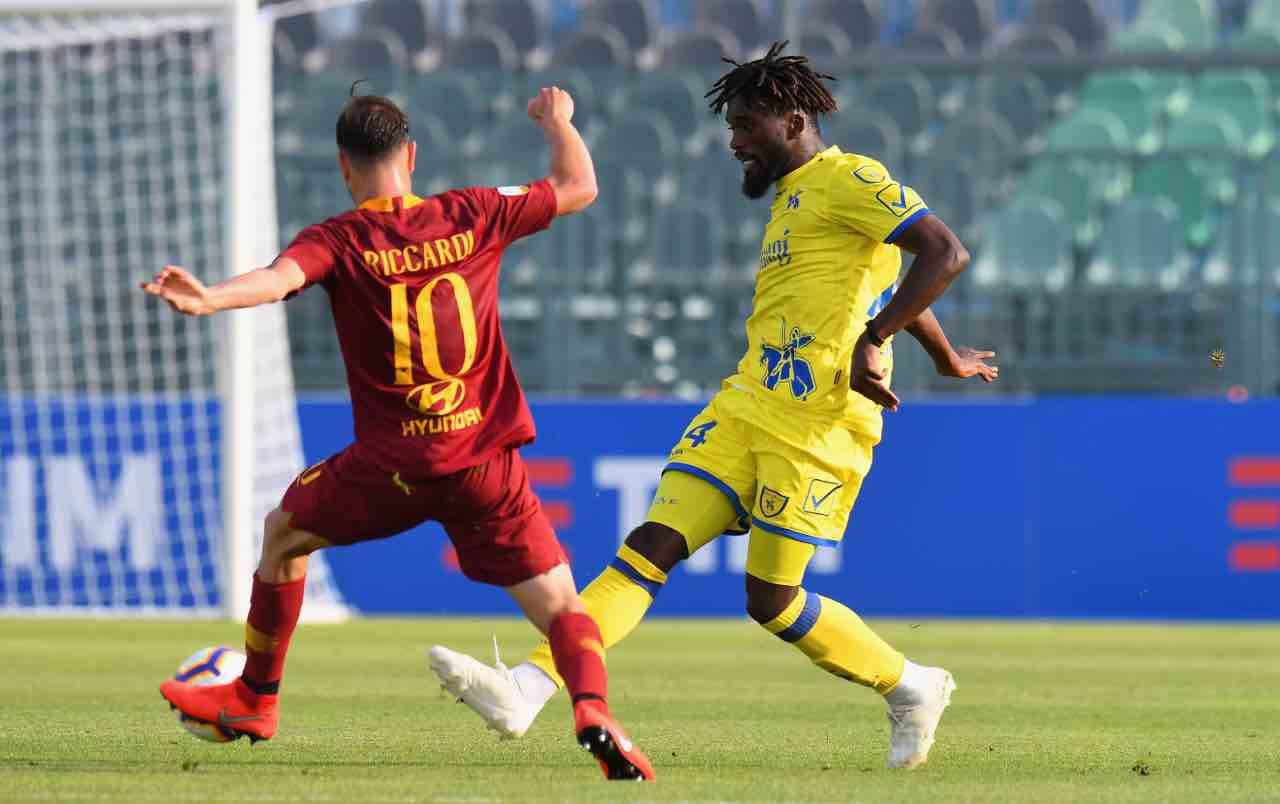 Calciomercato Roma Riccardi Cagliari Serie B