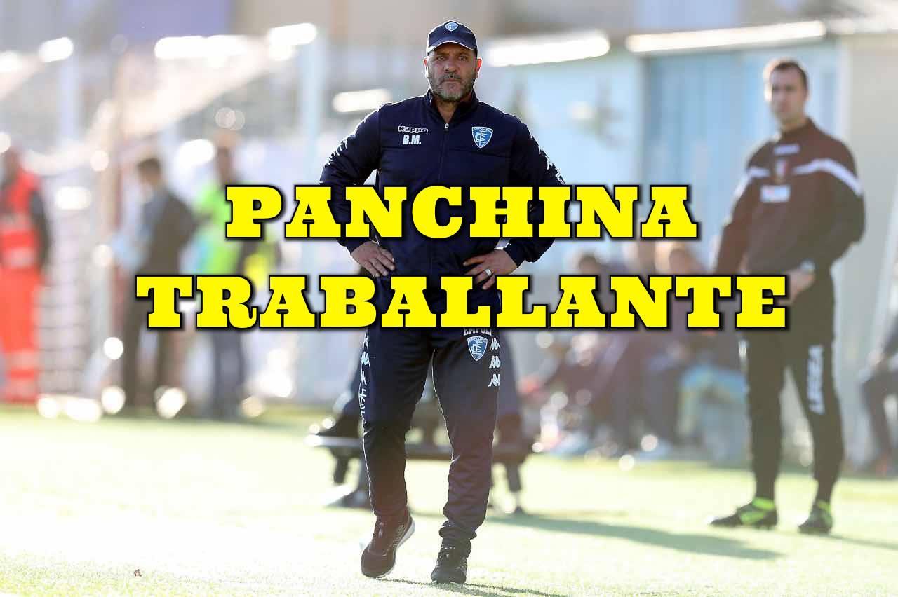 Calciomercato Empoli esonero Muzzi Bisoli Entella Serie B
