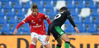 Coppa Italia Sassuolo Perugia risultato formazioni tabellino