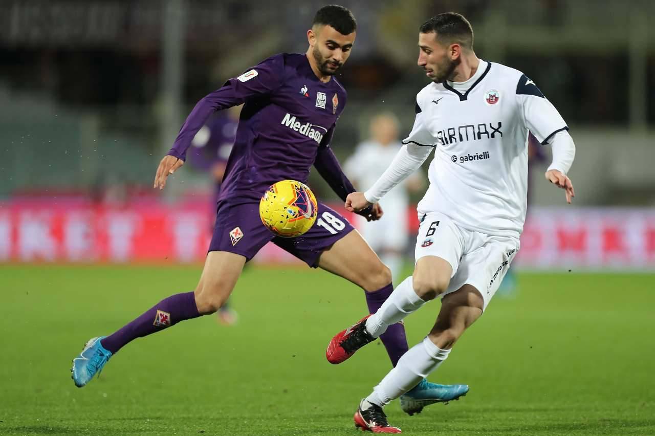 Fiorentina Cittadella Coppa Italia