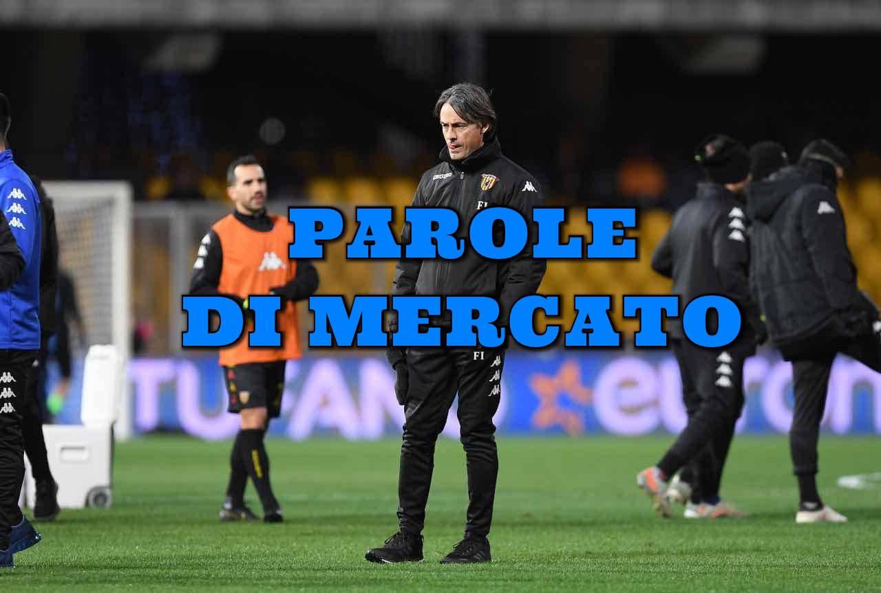 Calciomercato Benevento Inzaghi Filippo Simone Lazio Serie B